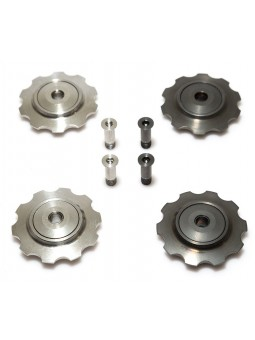 9/10 Speed: 2 titanium jokeys & ceramic bearing