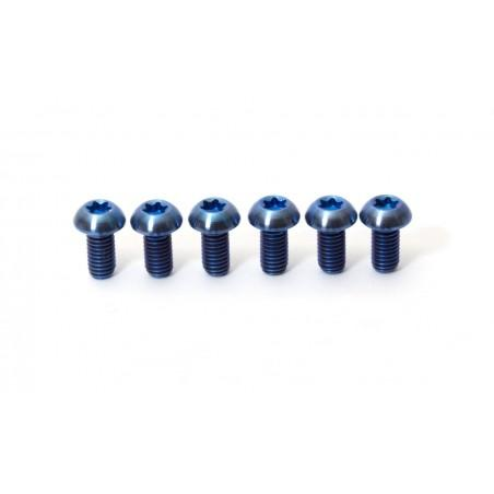 12 Titanium Break Disk Screws Set
