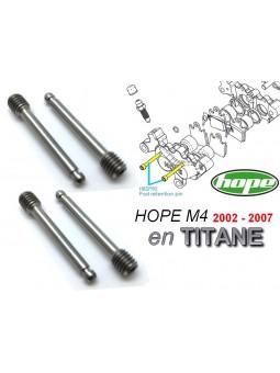 HOPE: 4 pins for brake pads M4 2002 à 2007