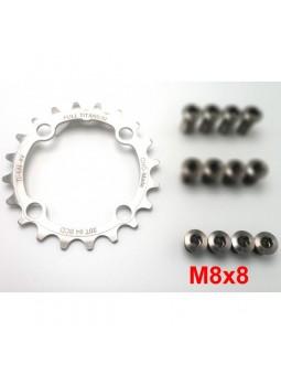20T Ring in Titanium - 64 BCD