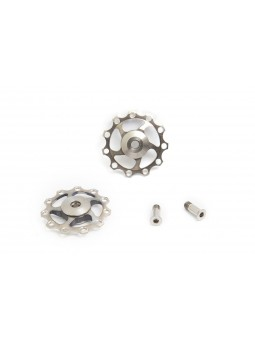 2 jokeys in titanium and ceramic bearing