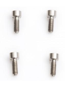 4 Schrauben aus Titan für Lock'on-Grips