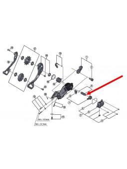 Shimano XT-XTR: 1 P-Achse für Schaltwerk
