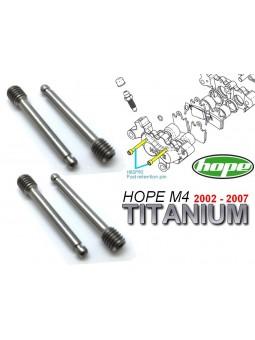 HOPE: 4 axes plaquettes M4 2002 à 2007