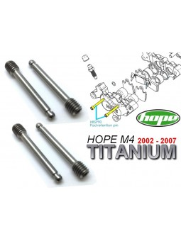 HOPE: 4 pins for brake pads M4 2002 à 2007