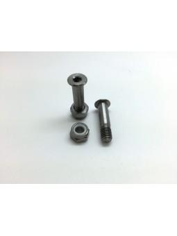 HOPE: 2 axles for Lever in Titanium