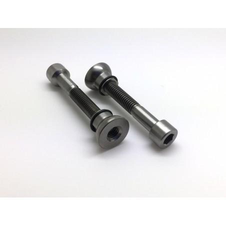 RACE FACE & EASTON: 2 screws in titanium for Seat Posts