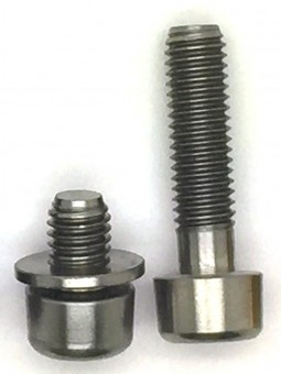 SRAM X0/X9: 2 Schrauben aus TITAN für Low Clamp