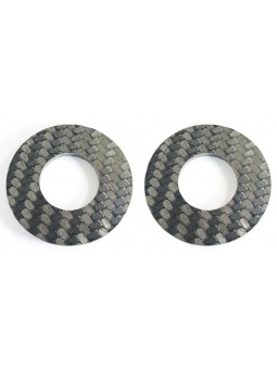 2 Washers in CARBONE: on choice M4, M5 or M6