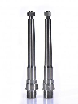 DMR V12 (v2): 2 Achsen aus Titan für Pedale
