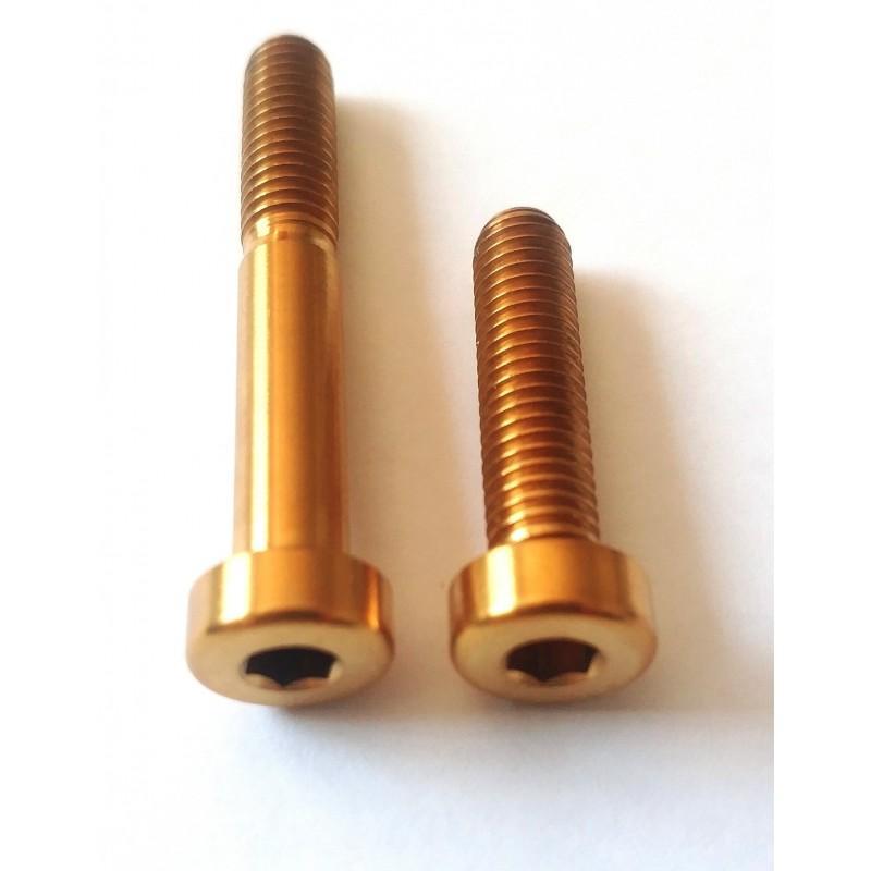 YEP Components: 2 Ti-Schrauben für Sattelstütze