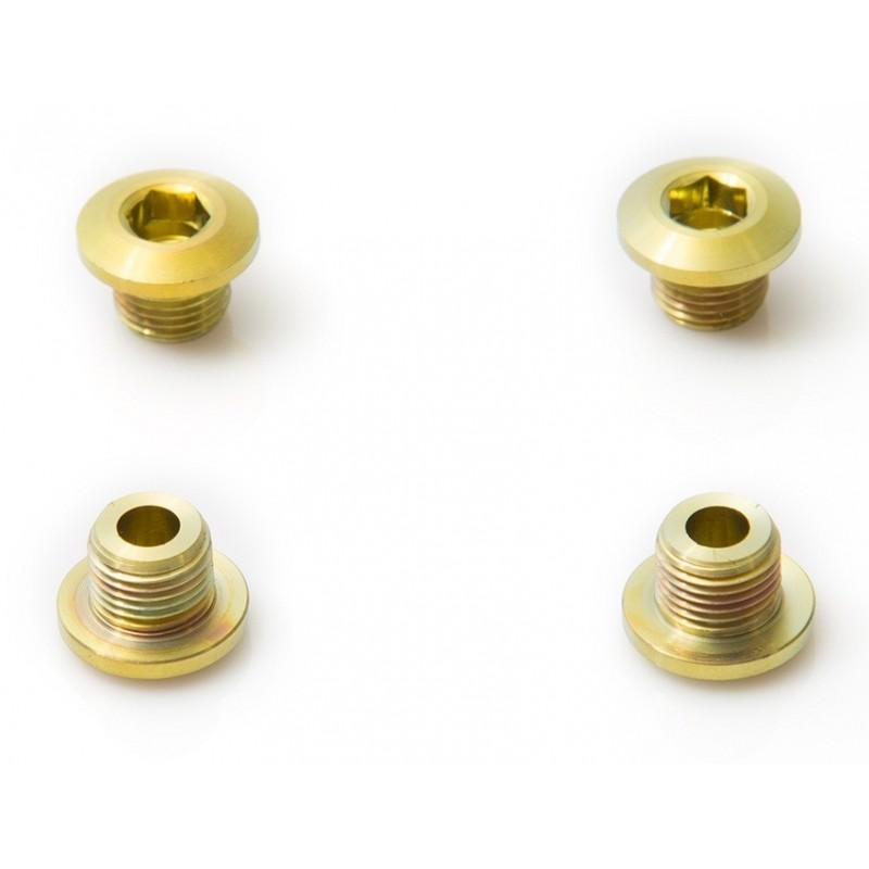 Rohloff: 4 Brake Disk Screws in Titanium