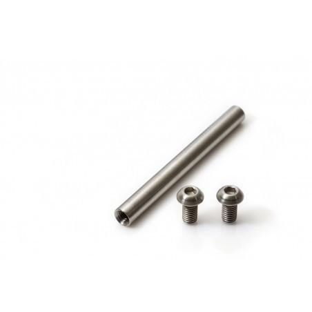 Rearshock axle in Titanium