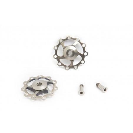 2 jokeys in titanium and ceramic bearing