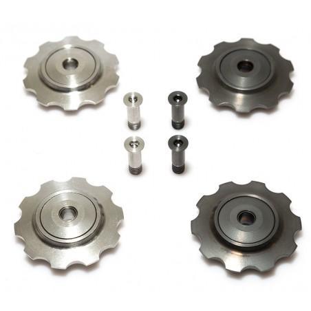 9/10 Speed: 2 titanium jokeys & ceramic bearing