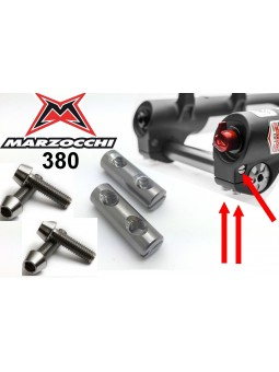 Marzocchi 380: 2 barrels / 4 screws in Titanium