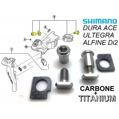 SHIMANO: 2 clamps/plates for Dual Lever