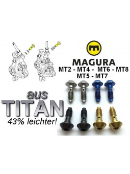 "MAGURA MT ""Next"": 2 Brake Line screws"