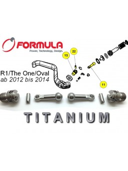 FORMULA R1/T1/RO: 1 Set lever for Brake Lever