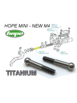 HOPE: 2 adjuster screws for brake levers