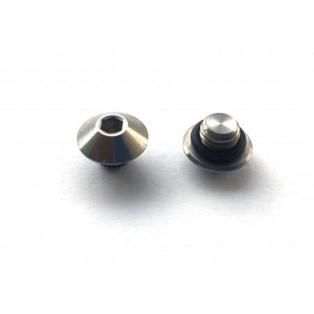 Shimano Alfine: 1 oil screw in Titanium