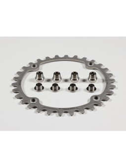 Chain ring 30 Teeth in Titanium - BCD 104