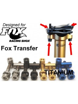 FOX Transfer- Seat poast clamp in Titanium