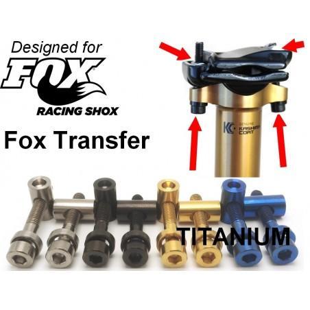 FOX Transfer- Seat poast clamp in Titanium