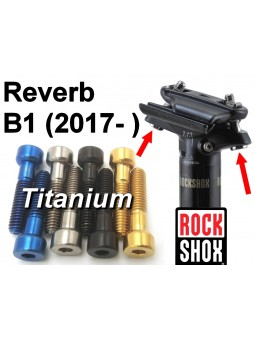 ROCKSHOCK Reverb B1: 2 screws for seat posts